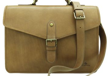 Men's brief case CANGURIONE 5135-031 DP/Light Brown