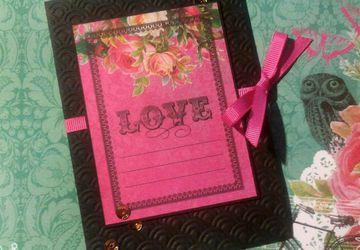 """A card """"Love"""""""