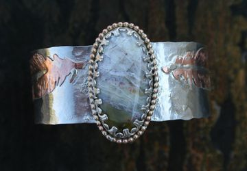"The ""Light as a Feather"" cuff"