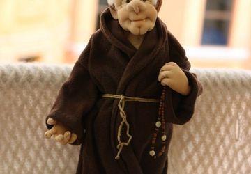 "Designer's doll ""A monk"""