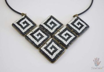 Portuguese Cobblestone Necklace - CSDC-5-28