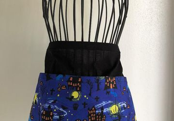 Haunted Mansion Waist Apron