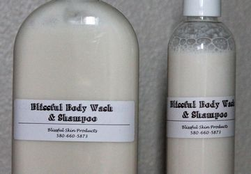Blissful Body Wash and Shampoo