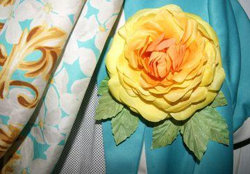 Sunny Rose pin