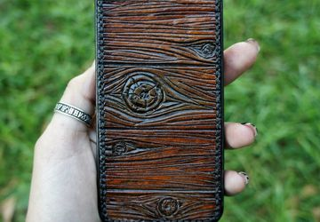 A phone leather case