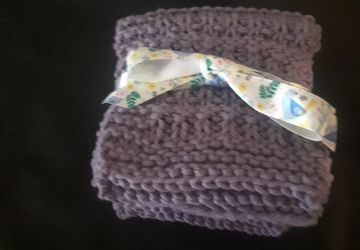Lavender Dishcloths/Facecloths