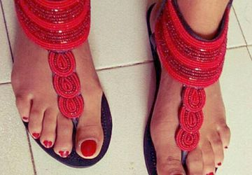 African handmade Leather Sandals