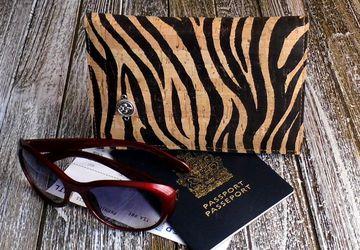 Bi-Fold Vegan Leather Travel Wallet