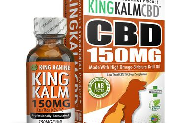 Buy CBD Oil for Dogs | 150 mg for Medium-Sized Pets