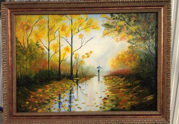 "A painting ""Golden autumn"""