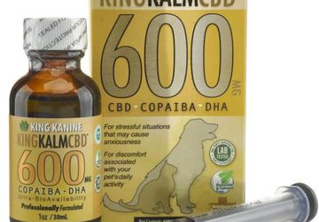 Dog CBD Oil From King Kanine | CBD for Pets
