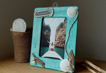 Beach Picture Frame, Coastal Picture Frame