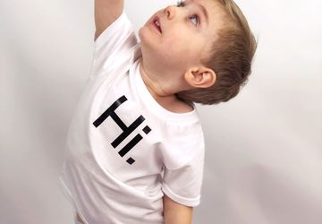 Hi! Bye! T-Shirt • Unisex Kids Clothing• Hi! Bye! T-Shirt for Boys and Girls • Multiple colors available!