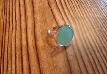 Jadeite Broken China Ring