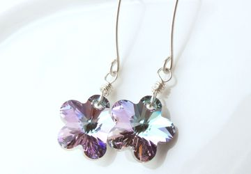 Swarovski Crystal Earrings Elegant Earrings