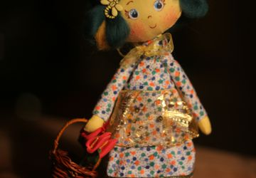 Summer the textile doll