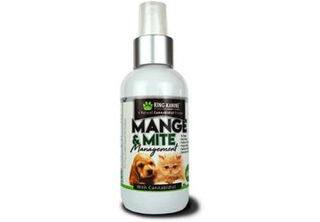 CBD for Pets | Pet CBD Mange and Mite Management Spray | King Kanine