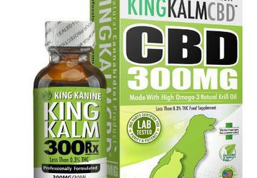King Kanine CBD for Dogs | 300 mg CBD Infused with Hemp and Krill Oil
