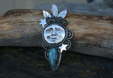 "The ""Moonchild"" Pendant"