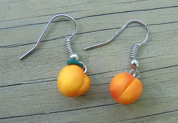 Perfectly Peachy Earrings
