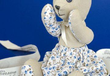 """Textile toy """"Bear Maya"""""""