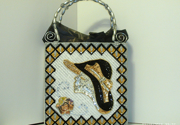 Art Deco Jeweled Tote bag