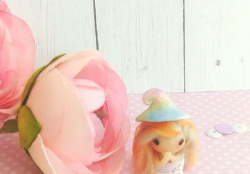 Art doll/ gnome doll