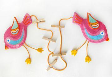 Birds Art Display Hanger