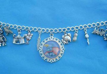 Circus Elephant charm bracelet