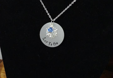 Frozen Inspired Necklace