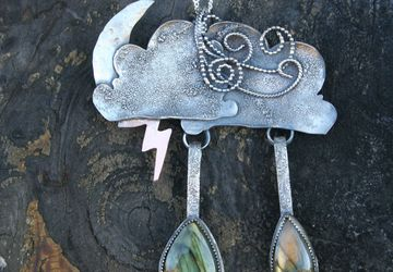"The ""Come Rain or Shine"" pendant"