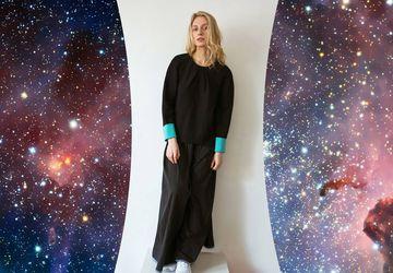A black sweatshirt COMFORT line by Ksusha Raikova