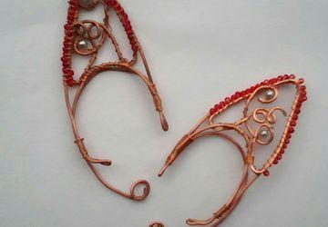 Elvish ear cuffs