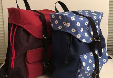 Drawstring Backpack Schoolbag