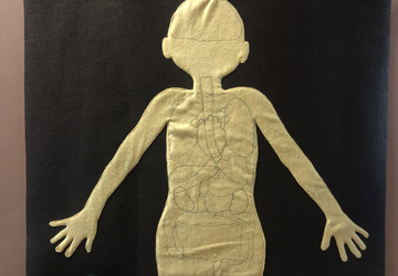 Felt Parts of the Body Activity, Educational Toy