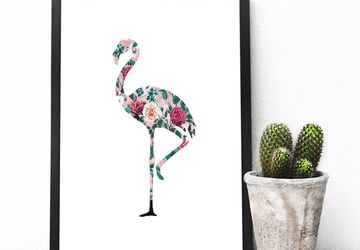 Flamingo decor Flamingo print Printable Flamingo Flamingo Wall Art Flamingo jpg Valentine's print Valentine's printable wall art Printables