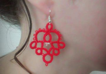 "Earrings ""Oriental beauty"""