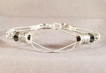 "Guitar String Bracelet ""Simple Knot"""