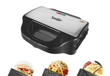 3 In 1 Electric Waffles Maker Machine   Faith eCommerce