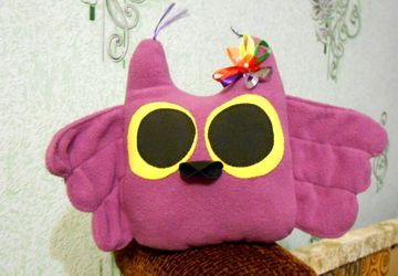 Flower Owl toy