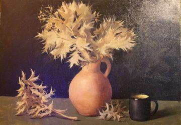 A still-life painting