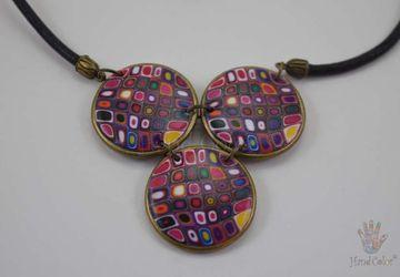 Gustav Klimt Indigo Necklace - CIDK-0-41