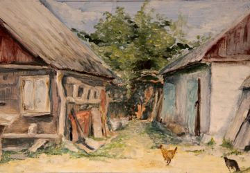 """A painting """"At the countryside"""""""