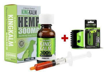 Hemp Oil for Dogs | 300 mg King Kalm Hemp Oil