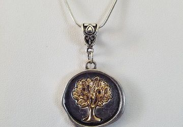 Tree of Life Necklace/Tree Pendant/Earthy Jewelry/Druid Necklace/Boho Necklace/Tree Pendant/Gift For Her/Stocking Stuffer