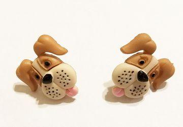 Cute Puppy Dog Earrings #15