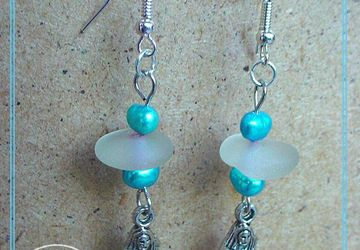 Sea Glass Siren Earrings