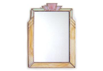 Wall Mirror in Art Deco Style