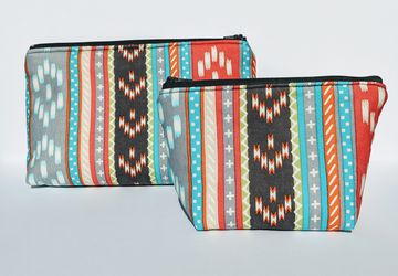 Boho Matching Organizer Bags, Travel Bags, Travel Case, Zipper Bag, Gift under 20