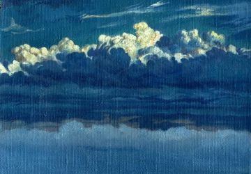 "A picture ""Clouds on sky"""